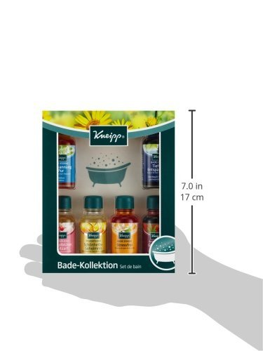 Kneipp Badeöl Kollektion, 1er Pack (6 x 20 ml) -