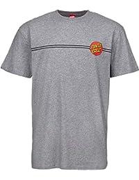 Santa Cruz Camiseta OG Classic Dot Dark Heather