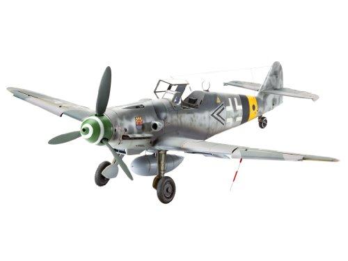 Revell Modellbausatz Flugzeug 1:32 - Messerschmitt Bf109 G-6 Late & early version im Maßstab 1:32, Level 5
