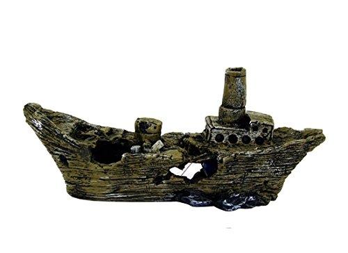 Nave da guerra - Relitto di imbarcazione, per ornare il fondale del tuo acquario