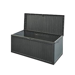 BLACK PLASTIC GARDEN STORAGE BOX LID PATIO SHED UTILITY CUSHION CHEST 747519 (B002IK998O) | Amazon price tracker / tracking, Amazon price history charts, Amazon price watches, Amazon price drop alerts