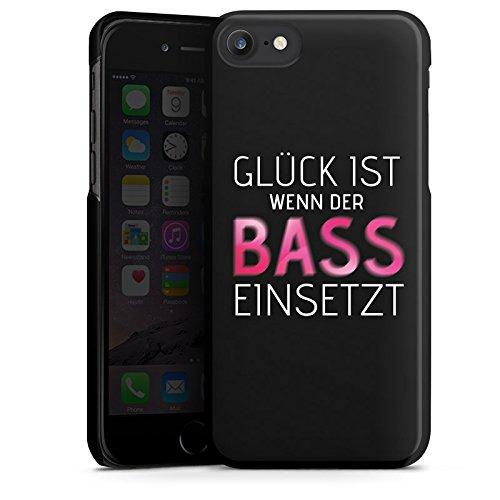 Apple iPhone 8 Plus Hülle Case Handyhülle Sprüche Glück Party Hard Case schwarz