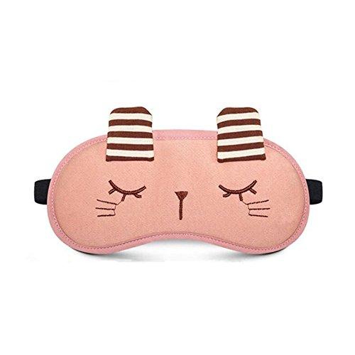 Reise Kühlschrank Mädchen (Cdet Schlafbrille Schlafen Nettes häschen Schlaf Kalt Warmhaltepackung Gemütlich Augenmaske Schlafen Masken (Rosa))