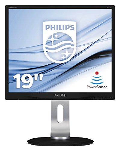 Philips 19P4QYEB 19-Inch LED Backlight LCD Monitor (1000:1, 250 cd/m, 1280 x 1024, 14 ms, VGA/DVI/Display Port)