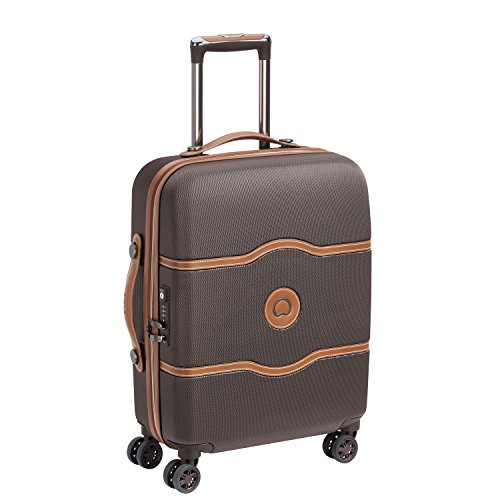 DELSEY PARIS CHATELET AIR Equipaje de mano, 55 cm, 39 liters, Marrón...