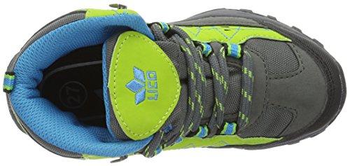 Lico Ringo, Chaussures de Randonnée Hautes Mixte Enfant Jaune (Lemon/Grau/Blau)