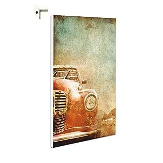 Pinnwand Magnettafel Memoboard Motiv Oldtimer auf Kuba im Retro Vintage Stil (60 x 80 cm)