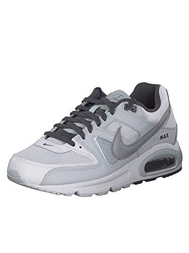 Nike Herren AIR MAX Command Laufschuhe, Mehrfarbig (White/Wolf Pure Platinum-Dark Grey 107), 42 EU - Air Herren Jordan