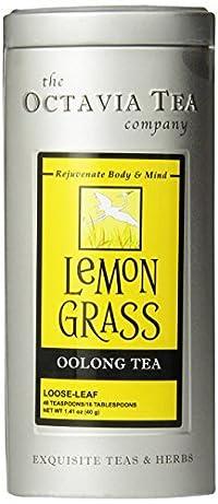 Octavia Tea Lemongrass Oolong Tea, Loose Tea, 1.41 Ounce Tin