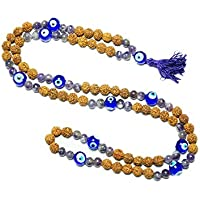 Mogul Interior Healing Meditation Mala Beads Quartz Crystal Japamala Amethyst Mind Concentration 108+1