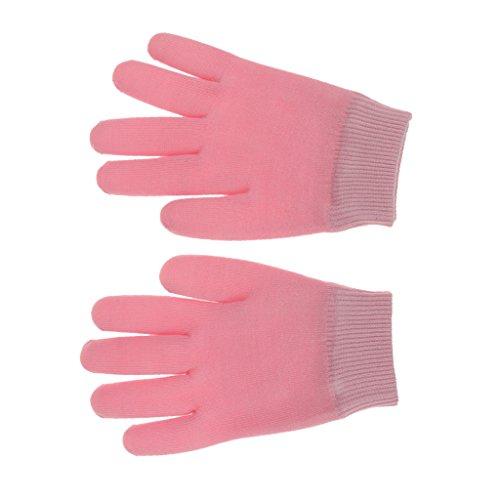 Schönheits SPA Feuchtigkeitsspendende Hautpflege Gel Therapie Behandlung Handschuhe Rosa (Zahnaufhellung Feuchtigkeit)