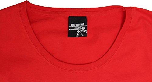 Personal Best Premium - T-shirt - Slogan - Manches Courtes - Femme red