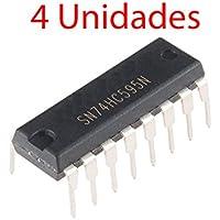 x4 Registro Desplazamiento SN74HC595N 8-bit Shift Register 74HC595 DIP-16 74595
