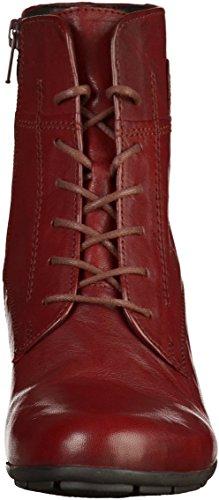 Gabor Damen Basic Stiefel Rot(Dunkelrot)