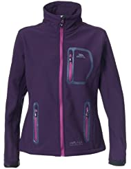 Trespass Homelake - Soft shell para mujer, color morado, talla M