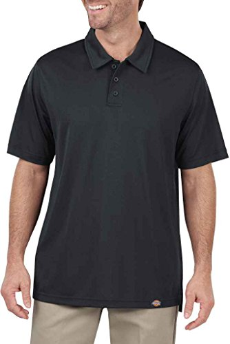 Dickies LS425 6 oz worktech mit Aerocool Mesh Performance Polo Dow Charcoal