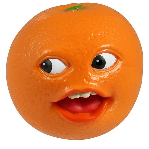 RJ Quality Products Annoying Orange 10cm sprechende PVC Figur: Whoa (Brobee Kostüme)