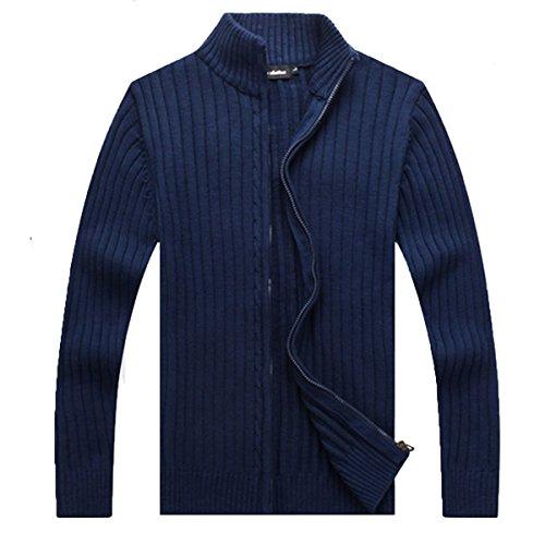 Cityelf Herren Sweatshirt Gr. L, dunkelblau (Trim Pullover Roll)