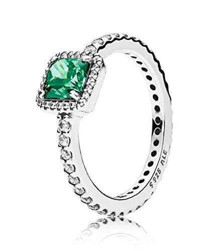 PANDORA Damen-Ringe zirkonia Ringgröße 56 (17.8) 190947GCZ-56 (Pandora Eine Liebe Ring)