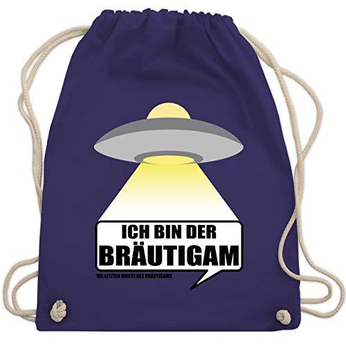 hied - Alien - Ich bin der Bräutigam - Unisize - Lila - WM110 - Turnbeutel & Gym Bag ()