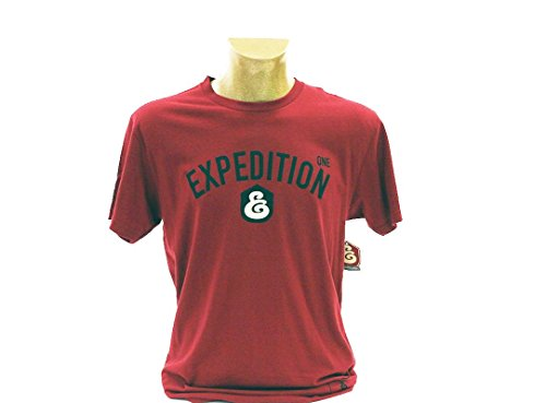 Expedition One T Shirt Rot - Burgunderrot