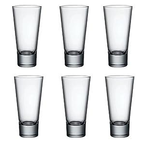 Bormioli Rocco Ypsilon Shot Liqueur Espresso glasses 70ml - Pack of 6