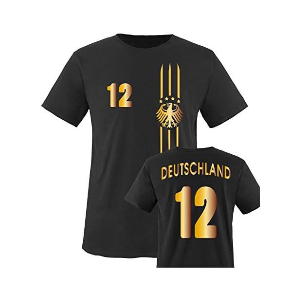 f56141e304d5 Comedy Shirts Kinder Fußball T-Shirt bedruckbar - Wunschname ...