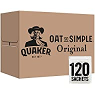 Quaker Oat So Simple Original Porridge Sachets, 27 g (Pack of 120)