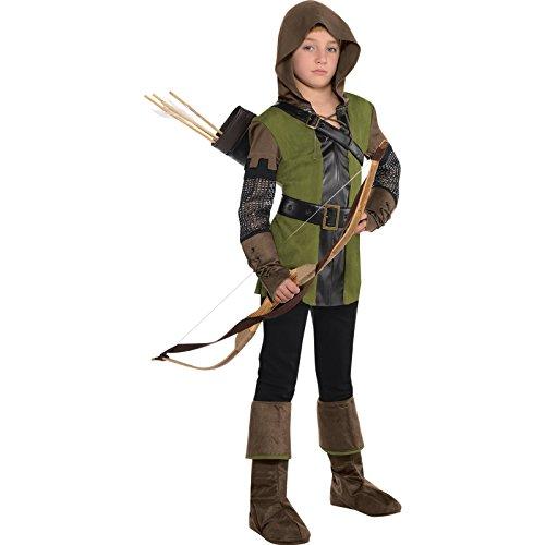 Robin Hood Jungen Kostüm Prinz von Diebe Büchertag Kid Kinderkostüm New - Mehrfarbig, (Dieb Kostüme)