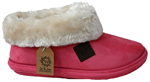 LADIES CHILTERN FUR LINING FUR COLLAR LOW TOP WARM LINED WINTER BOOT...