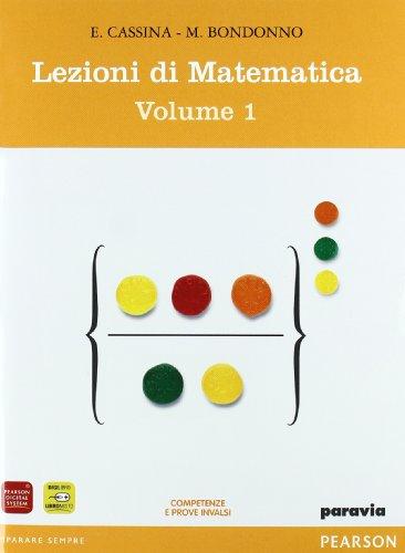 Lezioni di matematica. Con mymathlab-Prove INVALSI. Per il biennio degli Ist. tecnici. Con espansione online: 1