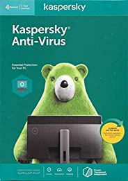 KASPERSKY ANTI-VIRUS 2020 - 4 USERS - AUTHENTIC MIDDLE EAST VERSION - 1 YEAR