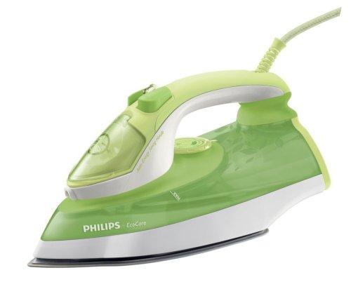 Philips GC3720/02 SteamGlide Ferro da Stiro a Vapore, 0.3 Litri, 2400 W, Verde/Bianco
