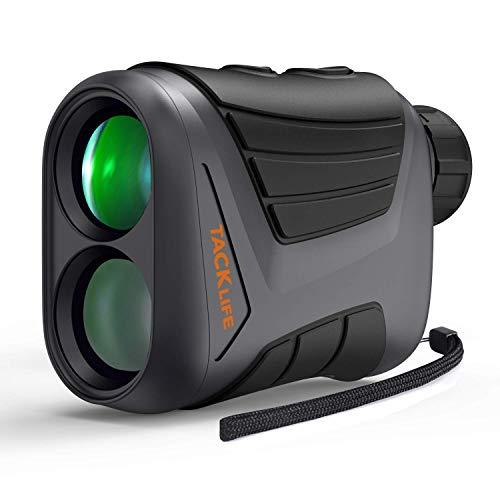 Télémètre Golf 800m, Télescope Monoculaire 900yd, Grossissement 7x24mm, Précision de Distance 1m, de Vitesse 5km/h d'Angle 1°, Charge USB, Chasse, Verrouillage du Mât, IP54, Tacklife MLR01