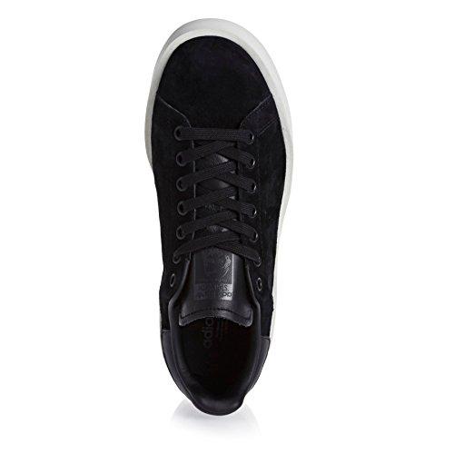 adidas Damen Stan Smith Bold W Fitnessschuhe, Weiß Schwarz (Negbas / Negbas / Casbla)