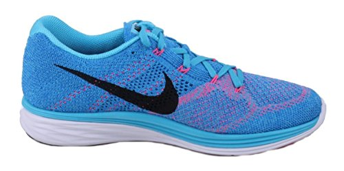 NikeFlyknit Lunar3 - Scarpe Running Donna Blu (Azul (Gamma Blue / Black-Pht Bl-White))