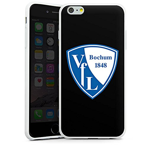 Apple iPhone X Silikon Hülle Case Schutzhülle VfL Bochum Fanartikel VfL Fußball Silikon Case weiß