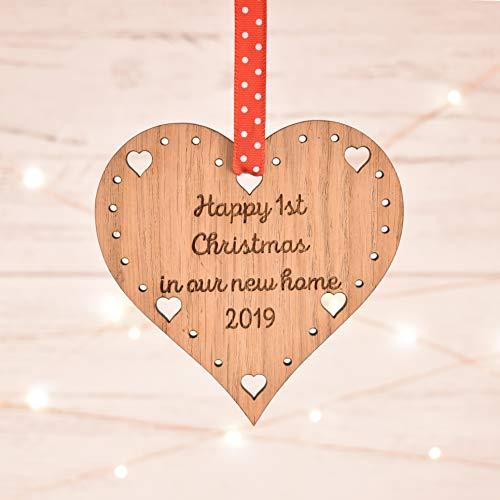 Dekoration für erste Weinachten in unserem neuen Haus/neuer Wohnung, Geschenk, Geschenkkugel, 03CD, Ornament für neue Wohnung, Ornament für den Weihnachtsbaum (Media Neue Reader)