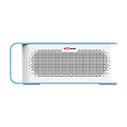 Portronics POR-776 SoundGrip Rechargeable Portable Bluetooth Wireless Stereo Speaker with Metallic Handle for Easy Grip, 3.5mm AUX, Powerful 6W Sound, In-built Mic and U Disk Music Play