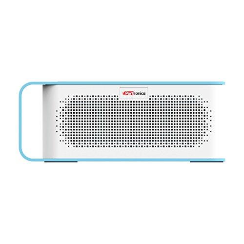 Portronics POR-776 SoundGrip Rechargeable Portable Bluetooth Wireless Stereo Speaker (Blue)