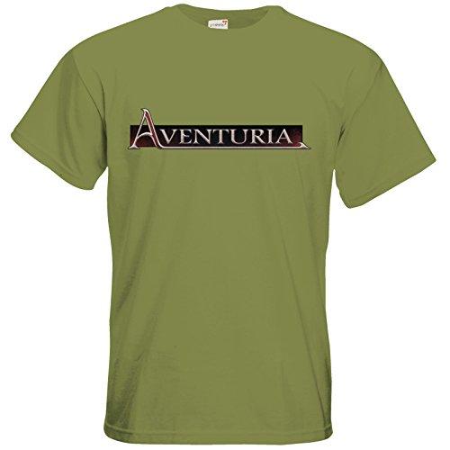 getshirts - Das Schwarze Auge - T-Shirt - Logos - Aventuria Green Moss