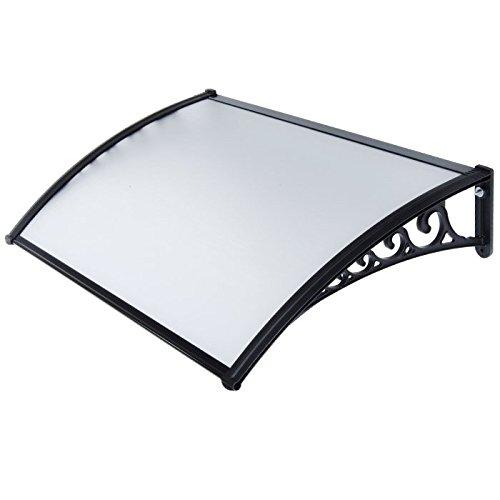 Verdelook 'Kit 2,4x 1,2MT Porche policarbonato sólido Compacto y plexiglás Naxos