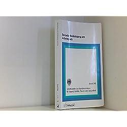 Sexuelle Belästigung am Arbeitsplatz (Schriftenreihe des Bundesministers für Jugend, Familie, Frauen und Gesundheit)