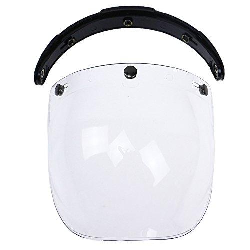 Caracteristicas: Adecuado para montar en motocicleta en cualquier ocasión. Las lentes para PC de grosor fuerte no son fáciles de romper, duraderas de usar. Hecho de material ABS superior, casco de seguridad con un fuerte rendimiento anticolisión. El ...