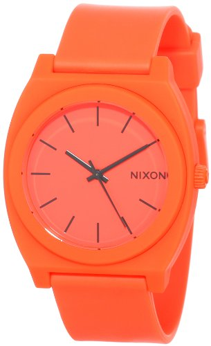 Nixon The Time Teller PA119-1156 Unisex Orange Dial and Band Watch