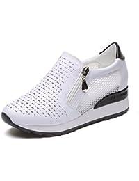 a5edfa9ce8d Amazon.es  zapatos negros plataforma - 36   Correr en asfalto ...