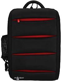 Maxbell 15.6 inch Rectangular Laptop Notebook Bag Backpack Tough Hard  Strong for Men Women Unisex ( f11f2107d8508