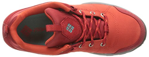 Columbia Fire Venture Textile Wmns, Chaussures Multisport Outdoor Femme Rouge (Super Sonic, Teal 845)