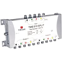 Triax TMS 510 - video splitters (Silver, 255 x 42 x 145 mm) prezzi su tvhomecinemaprezzi.eu