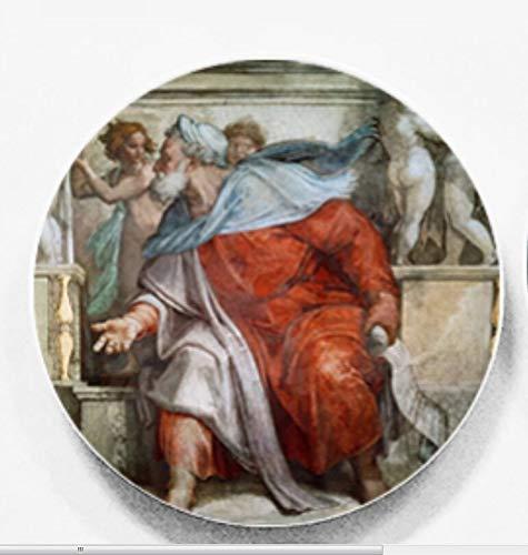 Skygvvege michelangel italia da 6 pollici murale decorativo appeso a parete artistica ceramica artigianale casa hotel ristorante sfondo decorazione